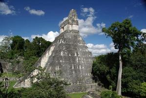 Maya-ruïnes in Guatemala foto