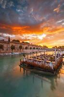 klimaathaven in Peschiera del Garda aan het Gardameer foto