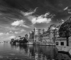 stadspaleis. Udaipur, India foto
