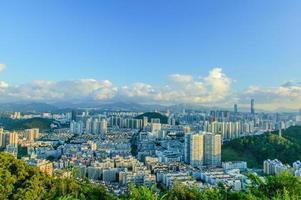 met uitzicht op Shenzhen foto