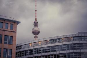 fernsehturm berlijn foto