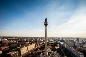Berlijn van bovenaf foto