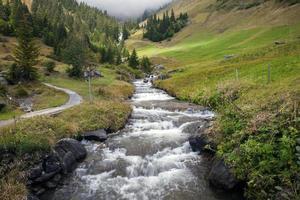 berglandschappen rond grindelwald, zwitserland foto