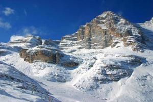 het skigebied foto