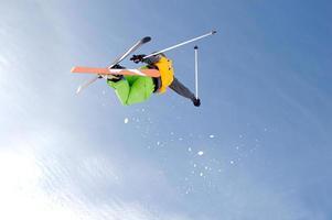 freestyle skiër foto