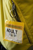 ticket voor skilift foto