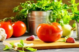 verse tomaat foto