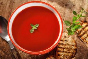 tomatensoep foto
