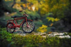 rode fiets foto