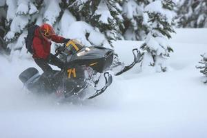 sneeuwscooter 1 foto