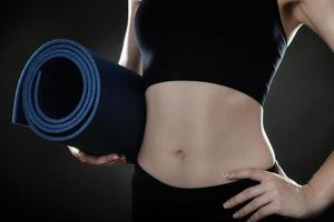 fitness mat foto