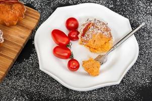tomatenkruidenmuffins foto