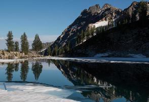berg reflectie foto