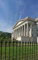 nationaal schatkistgebouw in Washington DC foto