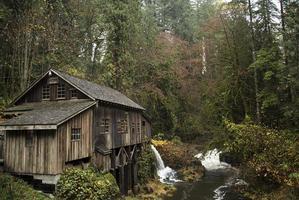 Cedar Creek Grist Mill, 1876 foto