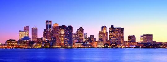 panorama van Boston