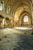 verlaten kerk foto