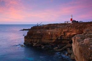 portland bill lighthouse, dorset. foto