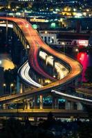 Portland snelweg 's nachts foto