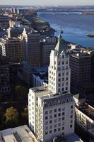 luchtfoto van memphis foto