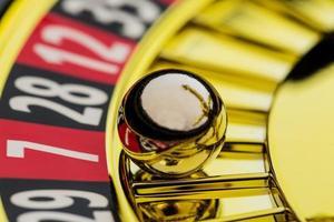 roulette gokken in het casino foto