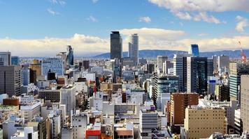 downtown nagoya japan foto