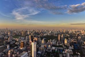 stadsgezicht van bangkok