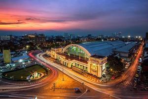 treinstation van bangkok
