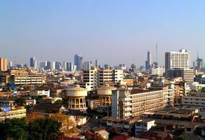 bangkok stad thailand foto