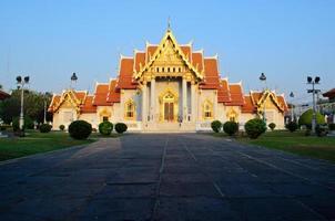 benjamaborpit-tempel, bangkok foto