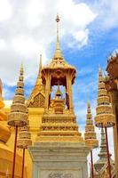 gouden pagode van bangkok foto
