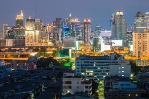 stadsgezicht, bangkok thailand foto