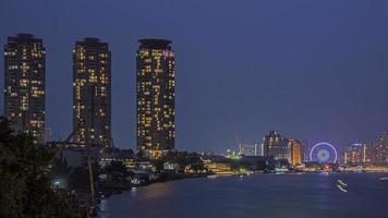 's nachts Bangkok foto