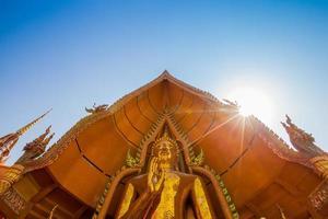 Aziatische architectuur Boeddha foto