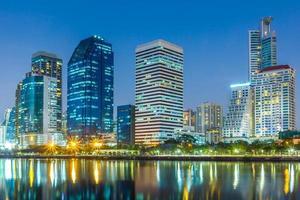 waterkant bangkok stad waterkant foto