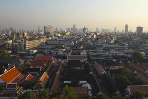 uitzicht op Bangkok foto