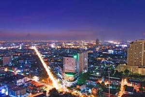 mijlpaal bangkok. foto