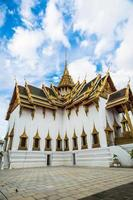 groot paleis en wat phra kaew tempel foto