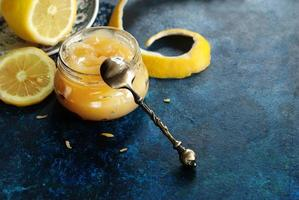 lemon curd horisontal foto