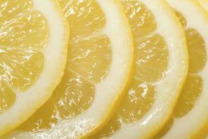 plakjes citroen foto