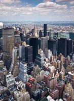 de horizon van New York, Manhattan foto
