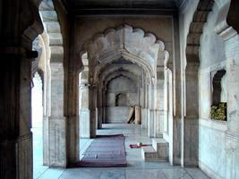 parel moskee in lahore fort, pakistan foto
