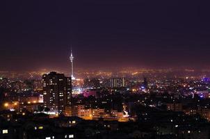 stad nacht foto