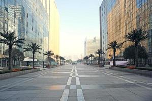 modern cbd zakencentrum foto