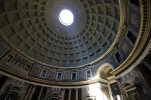 pantheon rome, Italië foto