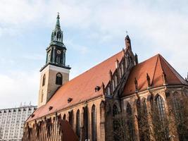 st. marienkirche in Berlijn, Alexanderplatz foto