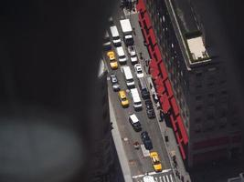 New York van bovenaf foto