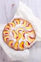 perzik cake foto
