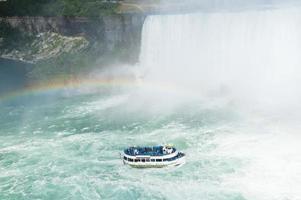 mist van de watervallen foto