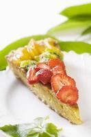 fruit taart foto